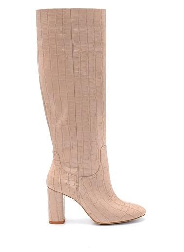 Derimod Kadın Çizme (18520) Klasik Bej